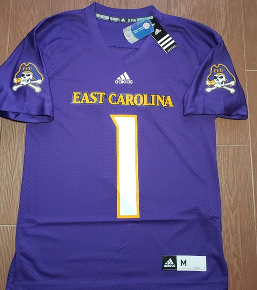 purchase cheap ad27c 57ea2 East Carolina Pirates NCAA Adidas Premier Jersey NWT